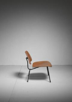 Charles Ray Eames Rare zebrano edition of the Eames LCM chair for Herman Miller USA - 759946