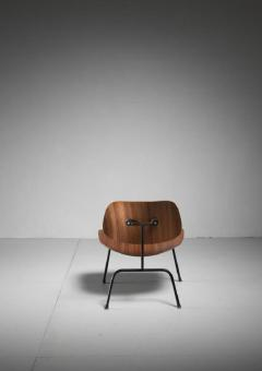 Charles Ray Eames Rare zebrano edition of the Eames LCM chair for Herman Miller USA - 759947