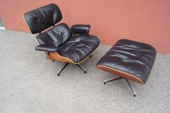 Charles Ray Eames Rosewood Lounge Chair and Ottoman by Charles and Ray Eames for Herman Miller - 1442135