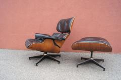 Charles Ray Eames Rosewood Lounge Chair and Ottoman by Charles and Ray Eames for Herman Miller - 1442136