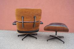 Charles Ray Eames Rosewood Lounge Chair and Ottoman by Charles and Ray Eames for Herman Miller - 1442137