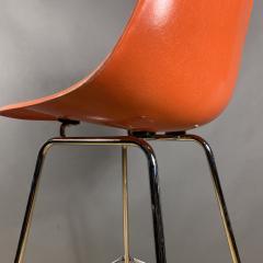 Charles Ray Eames Set of Charles Ray Eames Fiberglass Shell Bar Stools - 1384607