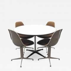 Charles & Ray Eames - Set of Four La Fonda Chairs by Charles and Ray ...