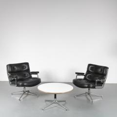 Charles Ray Eames Time Life Lobby Chairs with Coffee Table by Eames for Herman Miller USA 1960 - 1580075
