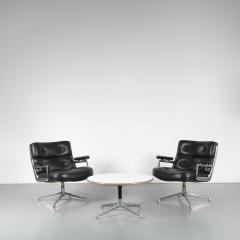 Charles Ray Eames Time Life Lobby Chairs with Coffee Table by Eames for Herman Miller USA 1960 - 1580079