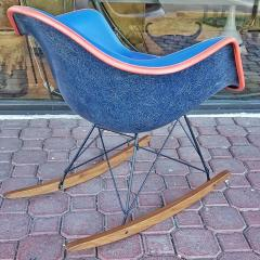 Charles Ray Eames Upholstered Eames Rocking Chair Rar D 1950 - 2018204