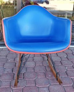 Charles Ray Eames Upholstered Eames Rocking Chair Rar D 1950 - 2018205
