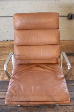 Eames Soft Pad Lounge Chair charles & ray eames - vintage herman miller eames aluminium group