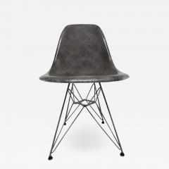 Charles Ray Eames Vintage mid century modern herman miller eames dsr chair elephant hide grey - 1683420