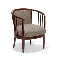 Charles Rennie Mackintosh Extraordinary Pair of Swedish Arts and Crafts chairs in beech - 702305