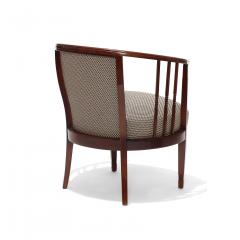 Charles Rennie Mackintosh Extraordinary Pair of Swedish Arts and Crafts chairs in beech - 702306