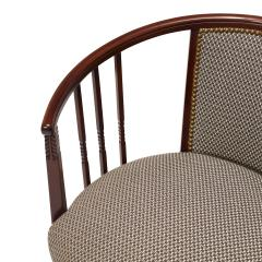 Charles Rennie Mackintosh Extraordinary Pair of Swedish Arts and Crafts chairs in beech - 702307