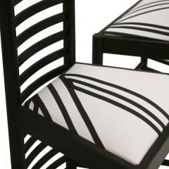 Charles Rennie Mackintosh Mid Century Modern Mackintosh 292 Hill House 1 Italian Pair of Ashwood Chairs - 1165758