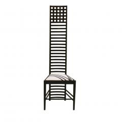 Charles Rennie Mackintosh Mid Century Modern Mackintosh 292 Hill House 1 Italian Pair of Ashwood Chairs - 1165761