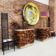 Charles Rennie Mackintosh Mid Century Modern Mackintosh 292 Hill House 1 Italian Pair of Ashwood Chairs - 1165766