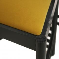 Charles Rennie Mackintosh Mid Century Modern Mackintosh 292 Hill House 1 Italian Pair of Ashwood Chairs - 1165769