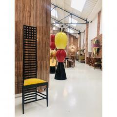 Charles Rennie Mackintosh Mid Century Modern Mackintosh 292 Hill House 1 Italian Pair of Ashwood Chairs - 1165771