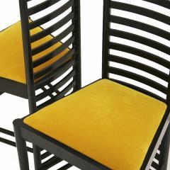 Charles Rennie Mackintosh Mid Century Modern Mackintosh 292 Hill House 1 Italian Pair of Ashwood Chairs - 1165777