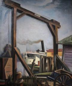 Charles Rosen Steamboat Landing - 285893