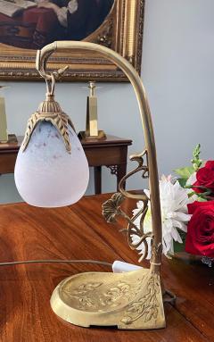 Charles Schneider French Art Nouveau desk table lamp Charles Schneider France C 1920 - 2140091