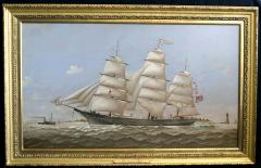 Charles Sidney Raleigh Ship LUCY G DOW - 1508711