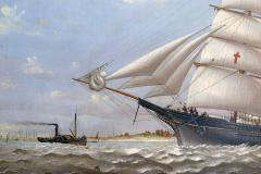 Charles Sidney Raleigh Ship LUCY G DOW - 1508712