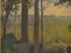 Charles T Phelan Heading Home 1894 Antique Landscape Painting by Charles T Phelan - 1127005