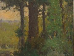 Charles T Phelan Heading Home 1894 Antique Landscape Painting by Charles T Phelan - 1127007