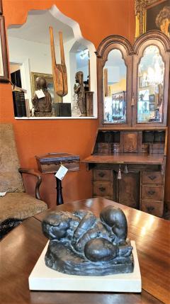 Charles Umlauf Sleeping Baby Bronze by Charles Umlauf - 2142946
