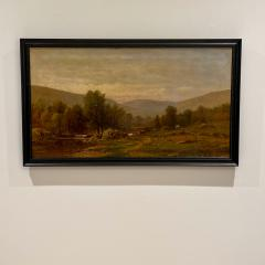 Charles Wilson Knapp Landscape Painting Signed Charles Wilson Knapp American Circa 19th Century - 1461151