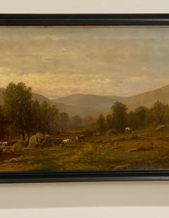 Charles Wilson Knapp Landscape Painting Signed Charles Wilson Knapp American Circa 19th Century - 1461152