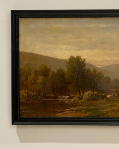 Charles Wilson Knapp Landscape Painting Signed Charles Wilson Knapp American Circa 19th Century - 1461154