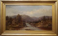 Charles Wilson Knapp View of the Susquehanna River a Landscape Oil Painting by Charles Wilson Knapp - 1138968