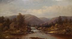Charles Wilson Knapp View of the Susquehanna River a Landscape Oil Painting by Charles Wilson Knapp - 1138970