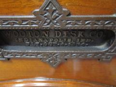 Charles Wooten 19th Century American Patented Wooten Desk with Provenance - 736455
