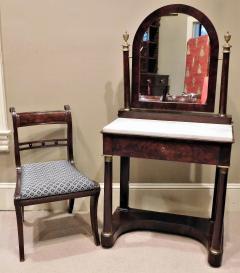 Charles X Mahogany Empire Dressing Table France circa 1820 - 999109