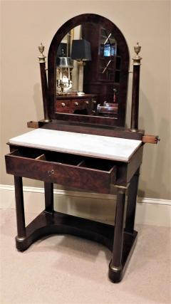 Charles X Mahogany Empire Dressing Table France circa 1820 - 999110
