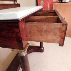 Charles X Mahogany Empire Dressing Table France circa 1820 - 999136