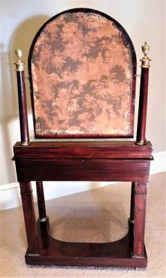 Charles X Mahogany Empire Dressing Table France circa 1820 - 999137