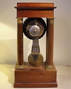 Charles X Mahogany Mantel Clock - 513471
