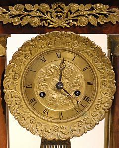Charles X Mahogany Mantel Clock - 513474