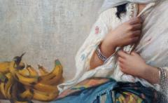 Charles Z Landelle Petite Marchande de Banane Orientalist - 471271