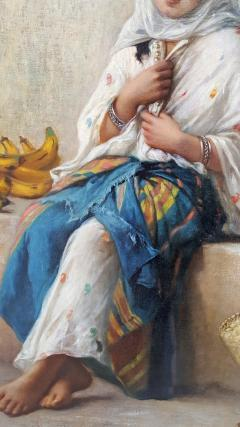 Charles Z Landelle Petite Marchande de Banane Orientalist - 471272