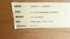 Charles Z Landelle Petite Marchande de Banane Orientalist - 471274