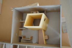 Charles and Rae Eames Studio Architects Model - 1054021