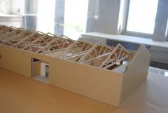 Charles and Rae Eames Studio Architects Model - 1054022