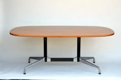 Charles and Ray Eames Beautiful Segmented Base and Bamboo Top Table by Eames for Herman Miller - 873193