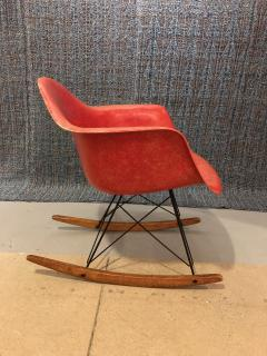 Charles and Ray Eames Charles Ray Eames for Herman Miller Rar Rocking Chair - 1047033