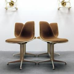Charles and Ray Eames Set of Four Charles and Ray Eames La Fonda Chairs - 960131