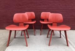 Charles and Ray Eames Set of Four Eames for Herman Miller DCW Chairs - 1017038
